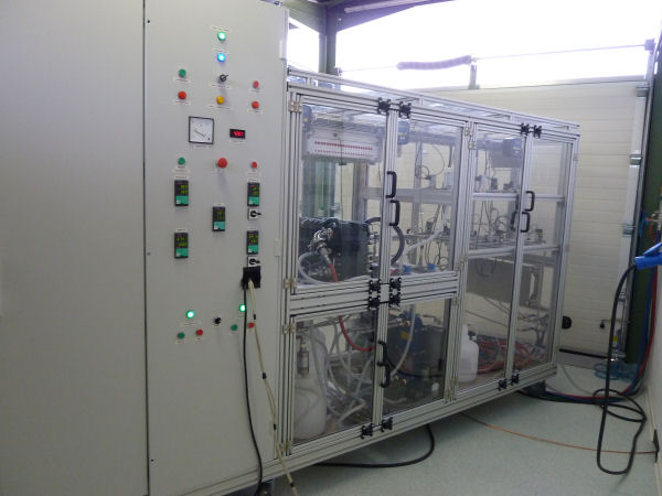 Fuel Cell test bench